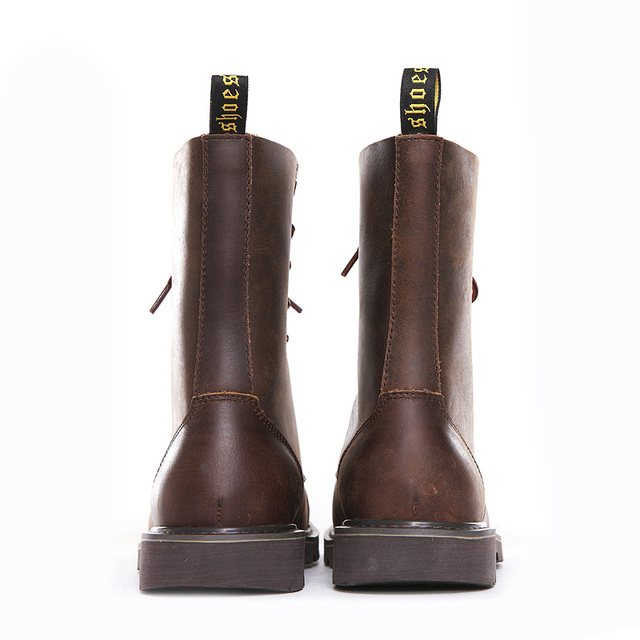 Hiking shoes Men Hunting Boots Tactical shoes Desert Combat Ankle Waterproof sneakers Leather Snow walking high-top Women's shoe 5