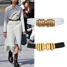 2020 Designer belts women high quality elastic long belt wai