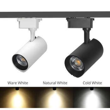 30W rails d'éclairage LED Rail en aluminium projecteur Rail luminaires magasin de fruits vêtements magasin chaussure nuit éclairage