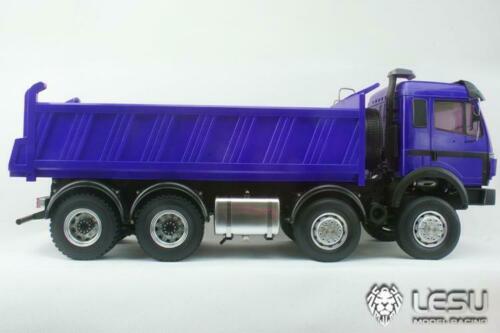 LESU 1/14 métal Bz 8*8 Dumper RC camion peint modèle hydraulique moteur ESC voiture TH15212