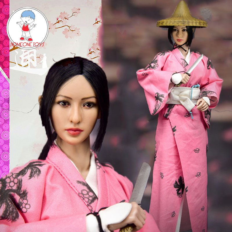 WOLFKING 1/6 WK89018A Japan Women Atung Action Figure Model Collection 12 Inches Figure Dolls