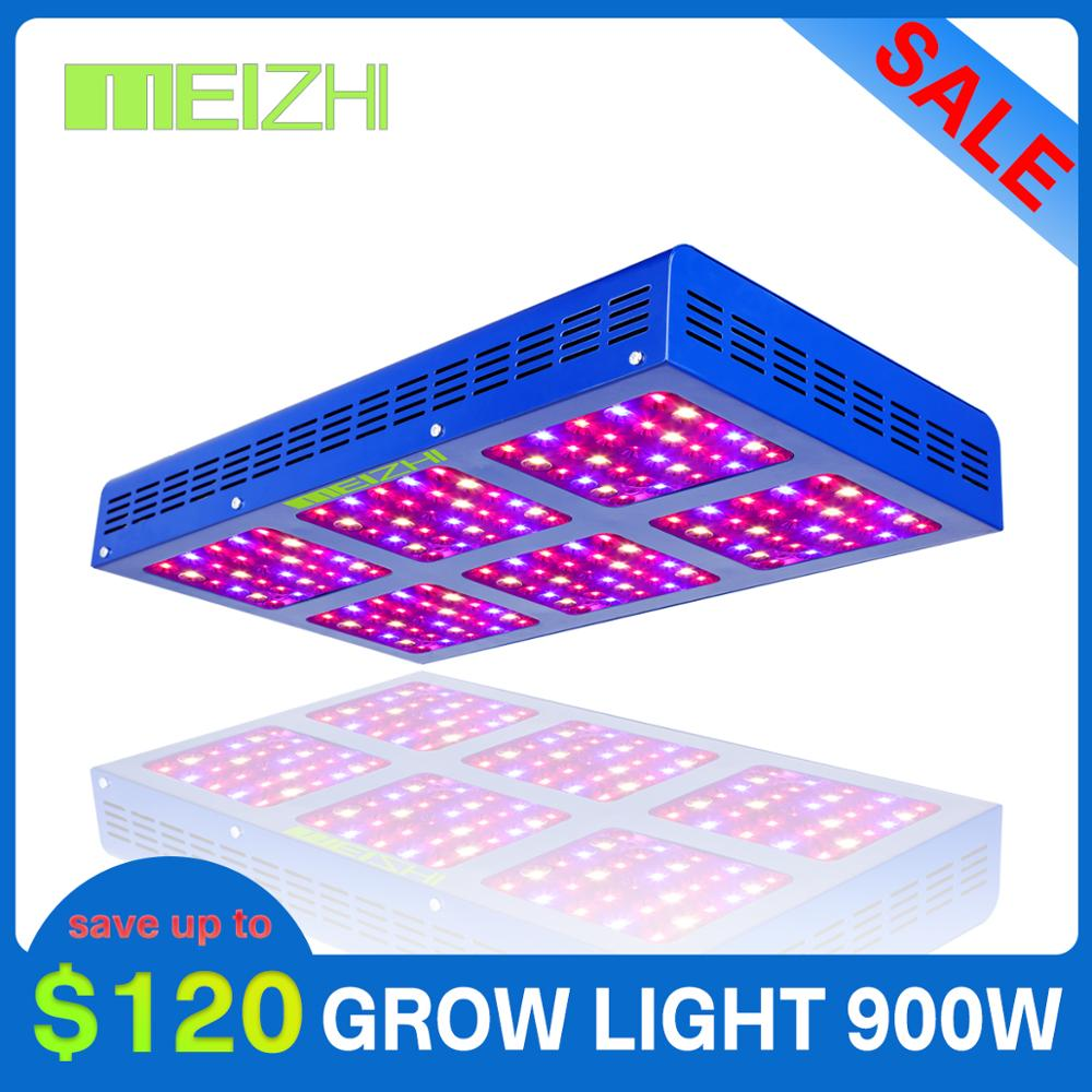 MEIZHI Reflector LED 900W Grow Light Hydroponics Systems Cob Full Spectrum Indoor Plant Growing Light For Agricultur Greenhouse