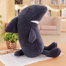 цена на Cute Animal stuffed Plush Toys Shark Bear Koala Dog Lion Dinosaur Cat cute soft pillow plush doll for Children baby gift