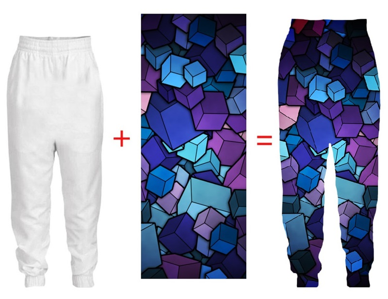 Tessffel Dropshipping Men Factory Custom Trousers 3d DIY Custom Polyester Spring Autumn Sweatpants Jogger Pants Men Hip Hop Pant in Sweatpants from Men 39 s Clothing
