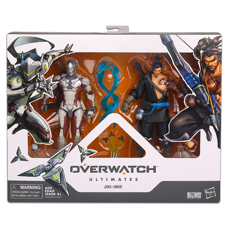 15cm Hasbro Overwatch Figure suit joint movable toy model Action PVC Collection Model Toy Anime Figure Toys For Kids 2