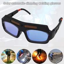 Solar Powered Welding Mask Helmet Eyes Goggle Auto Darkening Arch Glasses AS99