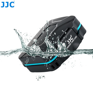 Image 5 - JJC Camera Memory Card Case Holder Storage Box Organizer for 4 SD SDHC SDXC 4 Micro SD TF Cards with Card Removal Tool & Lanyard