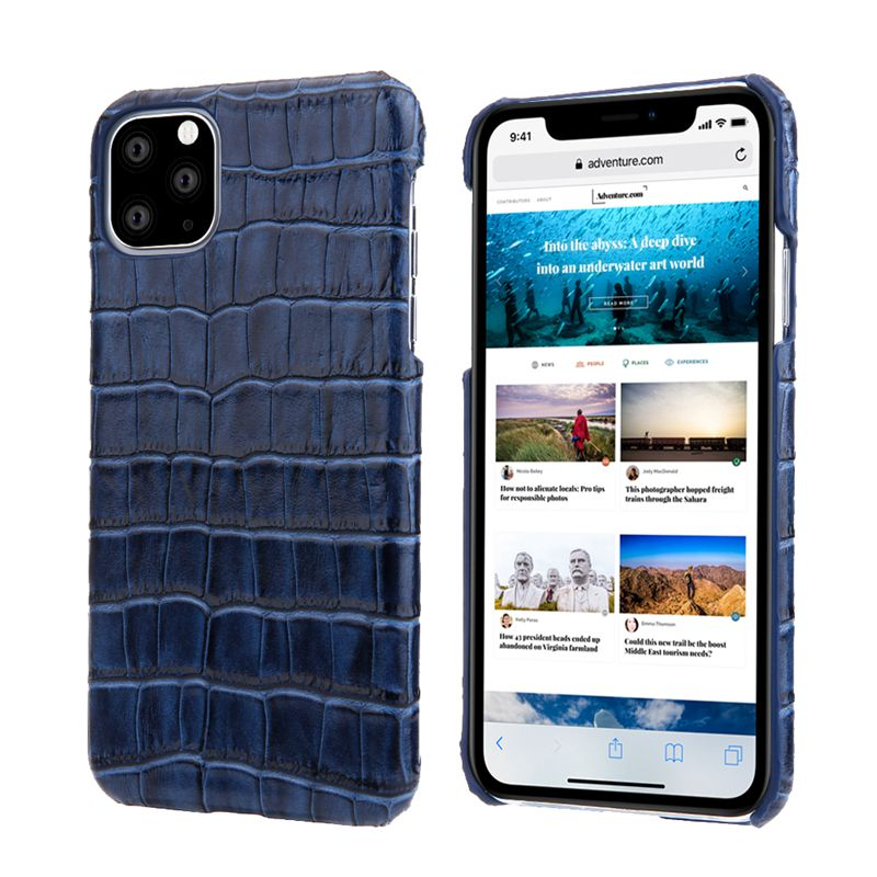Luxury Genuine Cow Leather Case For iPhone 12 Pro Max 1