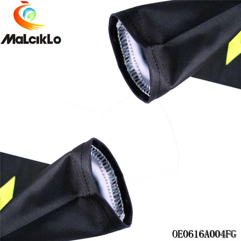 1 para sport ocieplacze na ręce do biegania na rowerze ramię rękaw rower opaska kompresyjna mankiety rower naramiennik Manguito Ciclismo Brazo