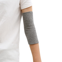 Winter unisex warm elbow guard double-layer thick cotton joint arm guards high elasticity cold protection scar tattoo