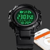 SKMEI Intelligente Vigilanza di Modo Degli Uomini Da Polso Bluetooth Smartwatch Chiamata APP Messaggio di Promemoria Per Huawei Samsung reloj inteligente 1501