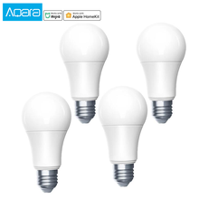 Aqara 電球 zigbee バージョンスマートホームアプリ、と apple homekit スマート led 電球ランプ