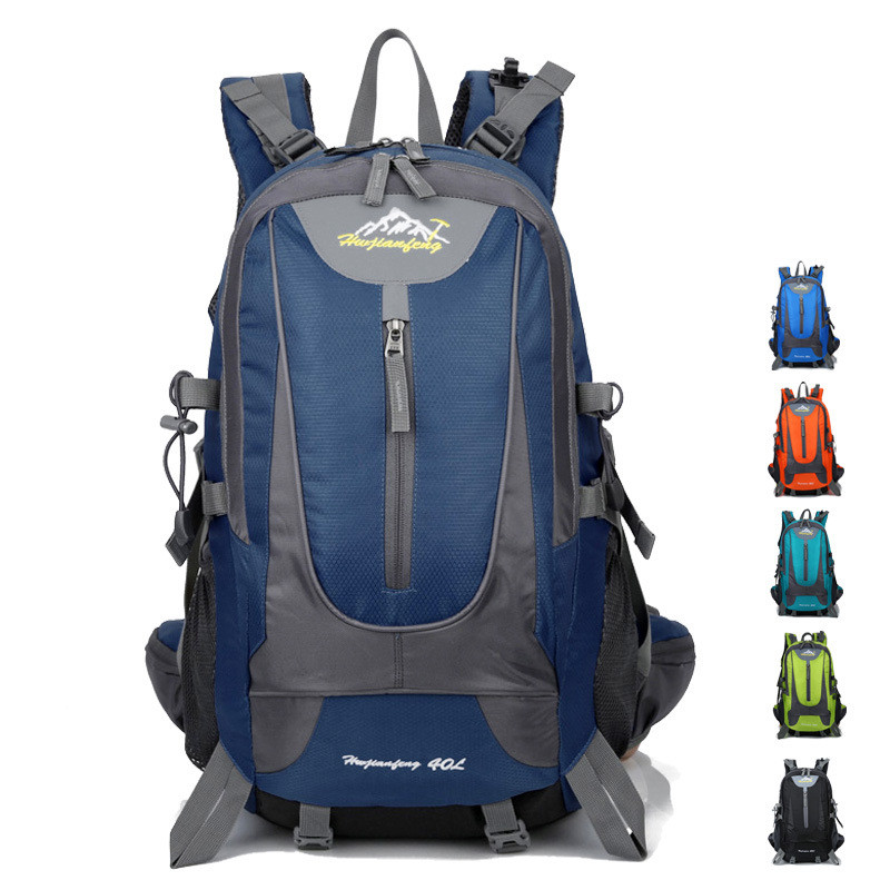 Высококачественная Мужская водонепроницаемая Сумка 40л, рюкзак для альпинизма, походный рюкзак для путешествий, спортивная сумка, походный