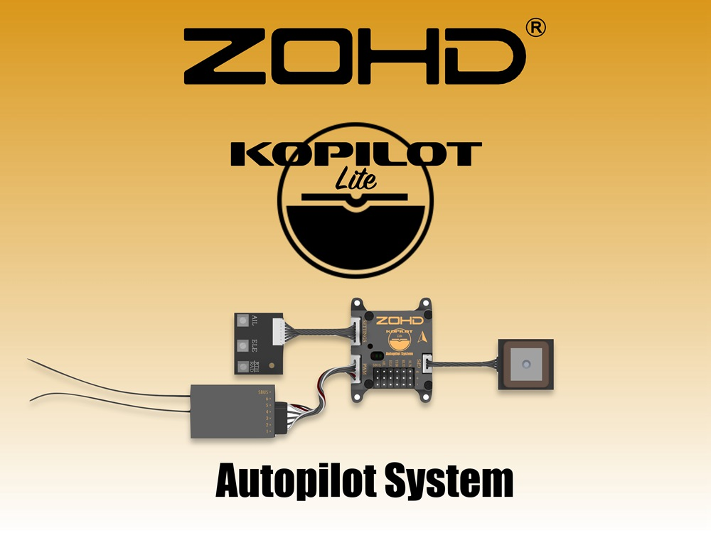 Presale ZOHD Kopilot Lite Autopilot System Flight Controller with GPS on
