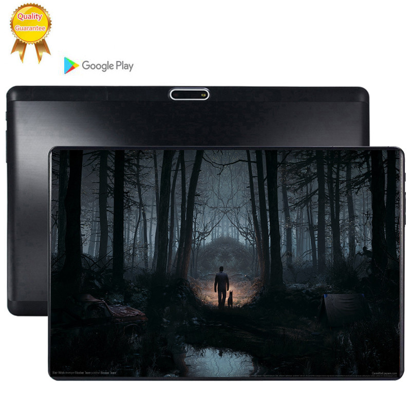 CARBAYTA 2.5D Tempered Multi-touch Screen 10.1 Inch Octa Core 3G FDD LTE Tablet 6GB RAM 128GB ROM Android 9.0 Tablet 10 Pocke