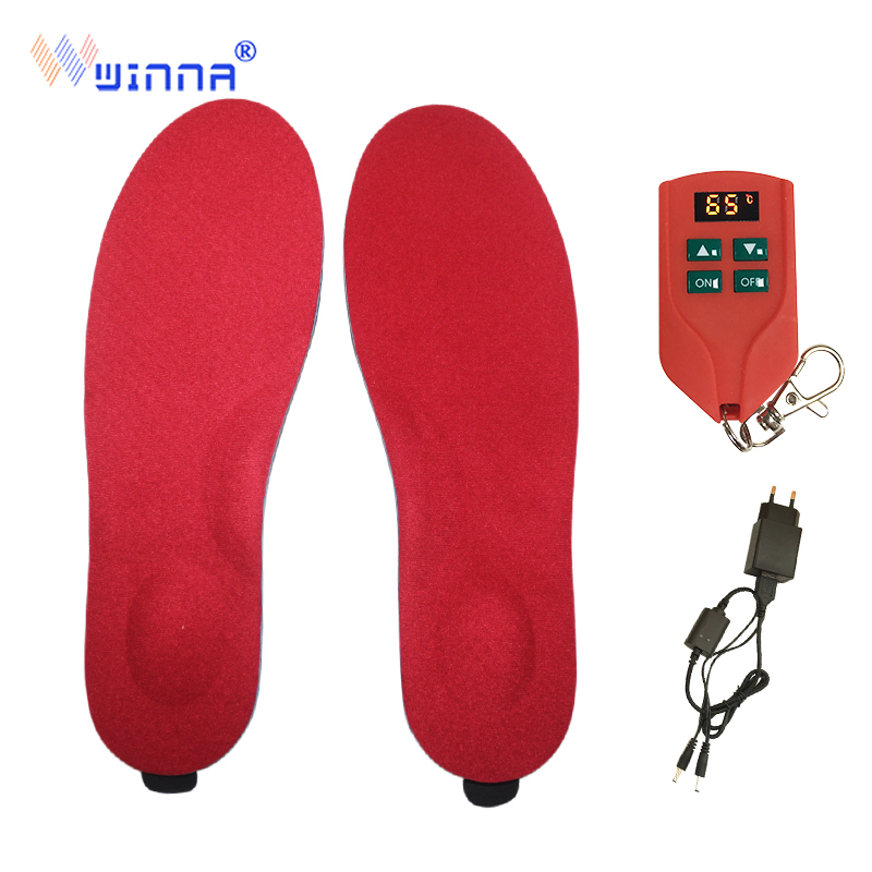 Upgrade 2000 MAh Orthopedic Insoles With Heated Function Electric Heated Orthopedic Arch Supports Insoles For Unisex Ski Cycling