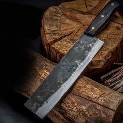 Hand Forged Duck Knife High Carbon Steel Roast Duck Knife Butcher Chef Knife Sharp Slicing Knife Kitchen Kitchen Knife