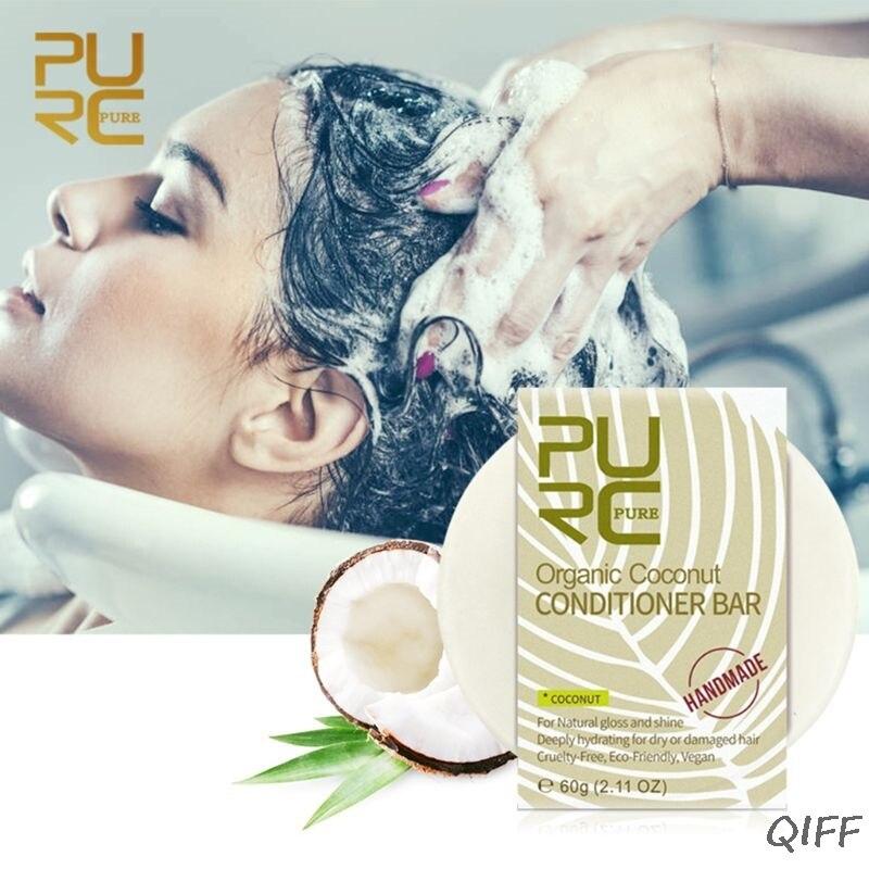 Ménage salle de bains pratique noix de coco algues lavande parfum cheveux soin savon corps savon 60g