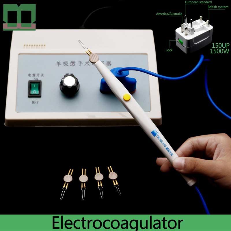 Electrocoagulator Surgical Operating Instrument Adjustable Double-eyelid Tool Cosmetic Plastic Microvascular Hemostasis