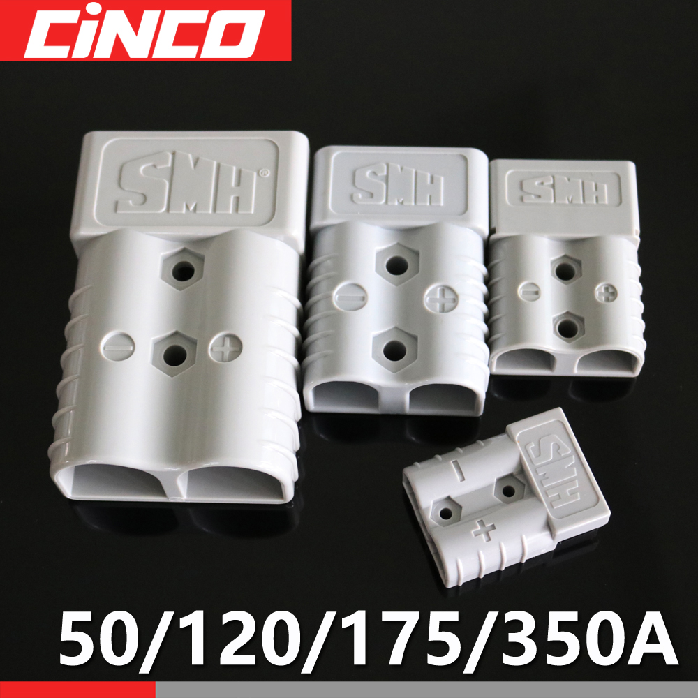 350A 175A 120A 50A 600V Plug Connector Double Pole with copper Contact handle Anti Dust Cover solar quickly connect