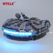 MTELE Brand LED Light Up Kit For 75257 Star war 2019 New Edition Millennium Compatile With Falcon LJ99022