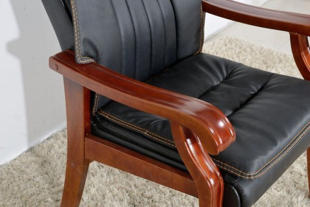 Solid Wood Computer Home Office Chair  2