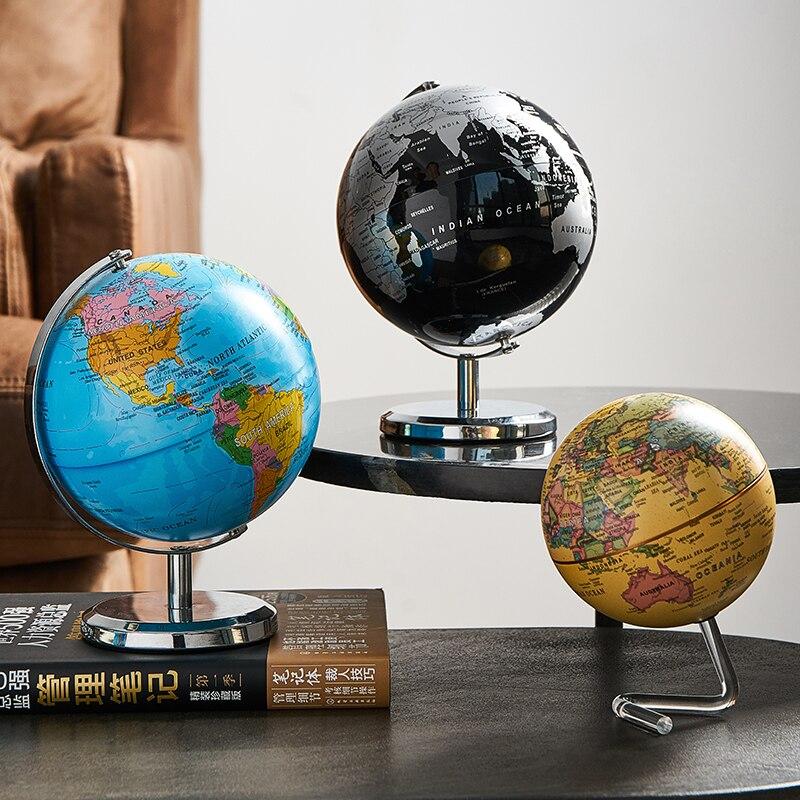Retro world globe 4