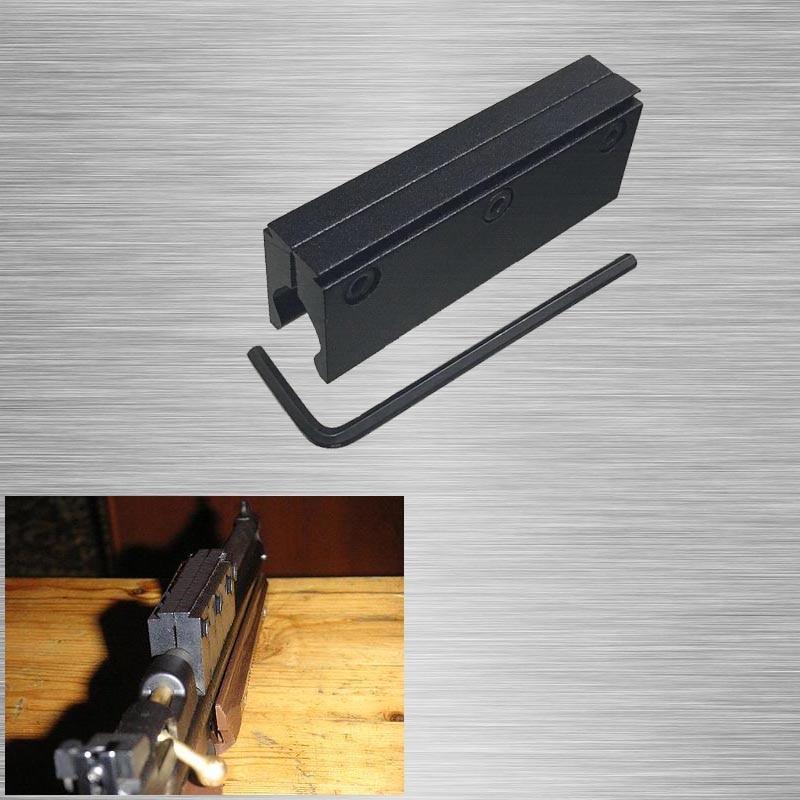 AirGuns 1pcs Intermount מתאמים עבור Airguns, 3/8 להשתלב מודלים 1322 1377 2240 2250 2260 ו 2289, 11mm להשתלב rail