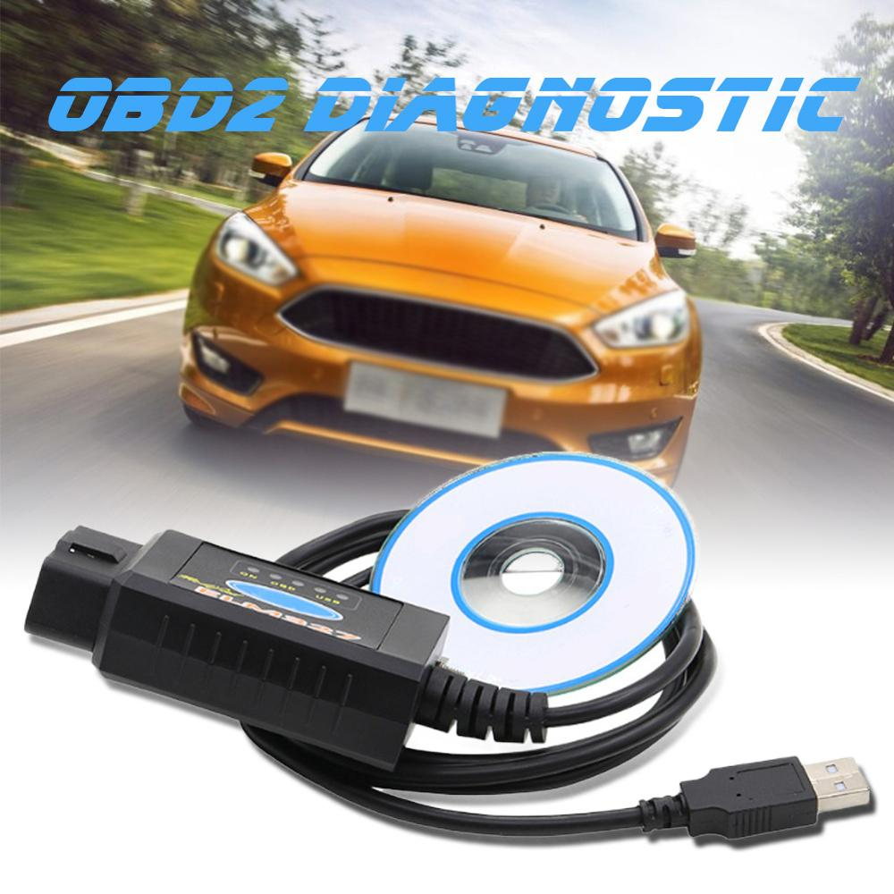 ELM327 USB OBD2 Modified For Ford MS-CAN HS-CAN Mazda Diagnostic  Forscan Scanne