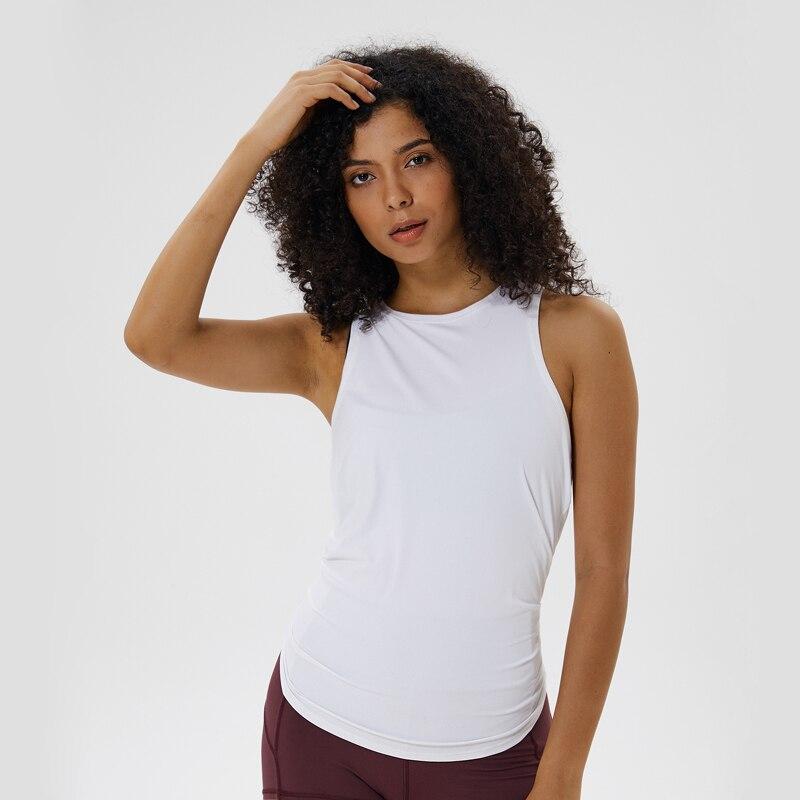 Nepoagym LAKE All Tied Up Women Yoga Top Sports Shirt Yoga Tank Top Women Loose Shirt Ladies Workout Tops Workout Shirt