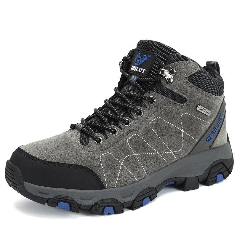 BOUSSAC Autumn Winter Outdoor Sports Hiking Boots Mountain Rock Climbing Shoes Fashion Unisex Classic Trekking Casual Sneakers