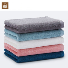 Original Youpin zajia Towel 100% Cotton Strong Water Absorption Sport Bath Wash Soft Towels Durable Skin friendly Facecloth