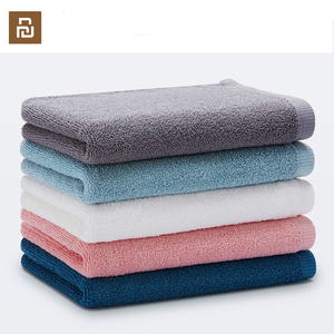 Image 1 - Original Youpin zajia Towel 100% Cotton Strong Water Absorption Sport Bath Wash Soft Towels Durable Skin friendly Facecloth
