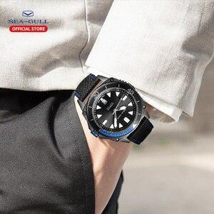 Image 5 - Mewa wodoodporny zegarek męski wielofunkcyjny luminous czas wolny sport nowy automatyczny zegarek mechaniczny 6057H seria morskich