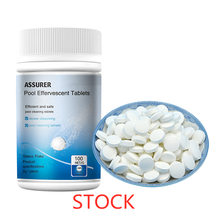 100pcs Effervescent Tablets Swimming Pool Cleaning Tablets Disinfection Pills Chlorine Instant Pool Tubs Spas Water Cleaning 50 pieces of swimming pool instant disinfection tablets chlorine dioxide effervescent tablets disinfectant chlorine disinfectant
