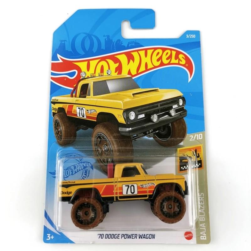 2018 Hot Wheels Mopar Super CUSTOM '70 Dodge Power Wagon Lot of 3