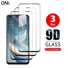 Protector de pantalla para Oppo Reno 4 Z, 5G, Reno4 F, vidrio templado, película de vidrio Protección de cobertura total Premium para Oppo Reno 4 Lite