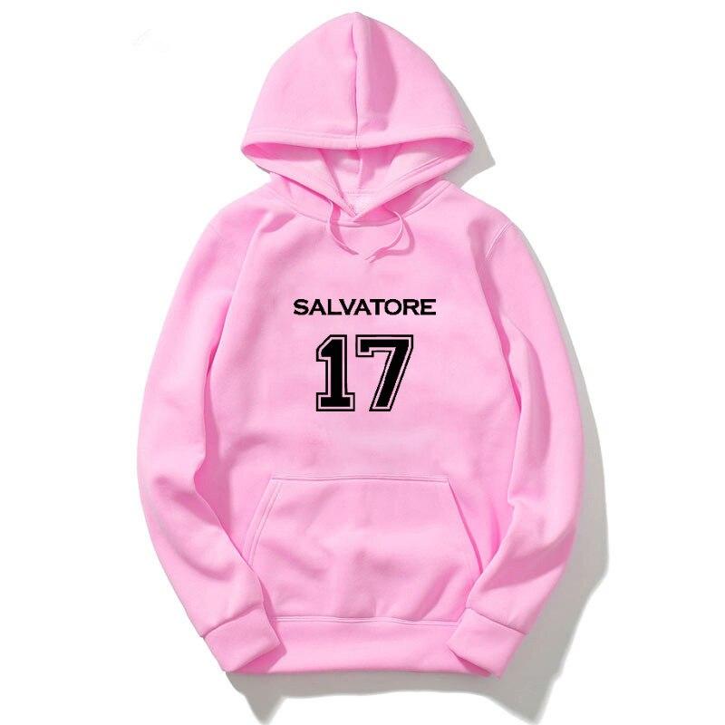 The Vampire Diaries Hoodie Sweatshirt Men Harajuku Hoodies Hip Hop Streetwear Sweatshirt Mujer Bluza Damska Winter Clothes Women 2