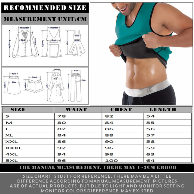 FDBRO Slimming Vest Belly Fitness Belt Waist Trainer Waist Trimmer Sweat Belt Sauna Tops Corset Sport Body Shaper Waist Support 5