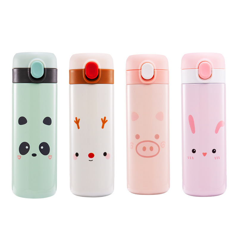 Kawaii Animal Cartoon Thermos Flask (450ml)