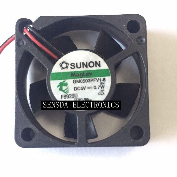 For Sunon  Gm0503pfv1-8 5V 0.7W 3cm 30mm 3010 Ultra Quiet Cooling Fan
