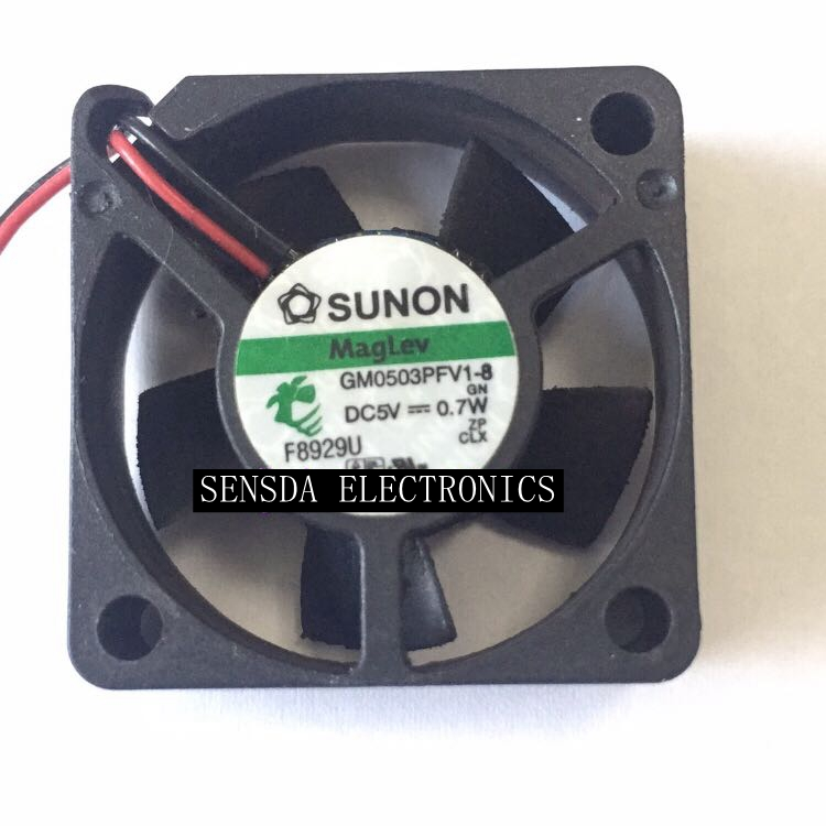For Sunon gm0503pfv1-8 <font><b>5V</b></font> 0.7W 3cm <font><b>30mm</b></font> 3010 ultra quiet cooling <font><b>fan</b></font> image