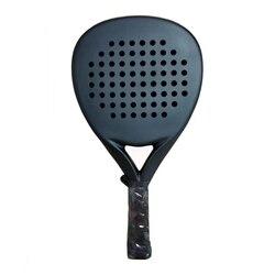 Professionelle Carbon Paddle Schläger Weiche EVA Gesicht Tennis Raqueta Mit Padel Schläger Tasche Für Männer Frauen Training Zubehör