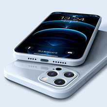 Caso de telefone líquido original para iphone 11 12 pro max 12 mini x xs max capa para iphone xr 8 7 plus se 2020 caso vidro temperado