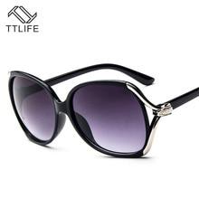 цена на TTLIFE Brand Star Style Luxury Sunglasses Women Oversized Sun Glasses Female Vintage Round Big Frame Sunglass Outdoor YJHH0006