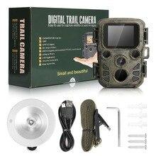 Mini Hunting Camera 12MP 1080P HD Video Night LEDs IR Trail Cam Track IR LEDS Range Up To 65ft Photo-Traps