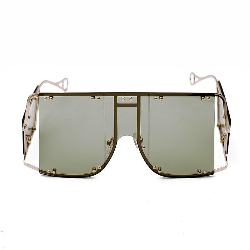 Oversized Sunglasses Women 2019 Sunglasses Men Vintage Sunglasses Luxury Retro Square Mens Sunglass Rihanna Sun Glasses