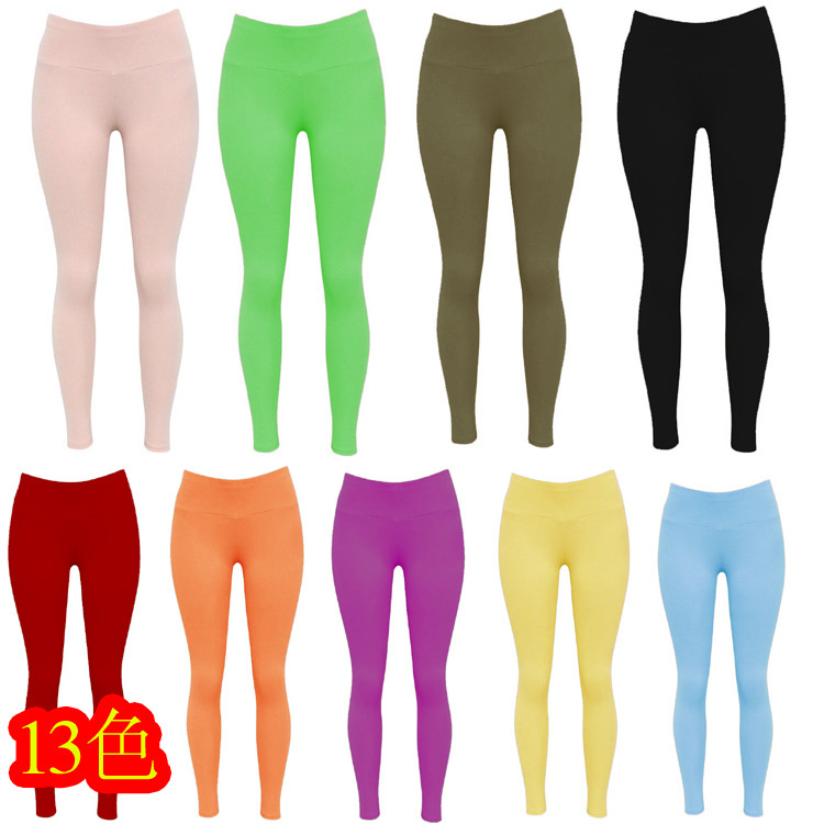 Stretch Tight Sexy Running Yoga Pants Candy Bottom Pants Luxury Tight Elegant Luxury Sexy Nightclub Pants