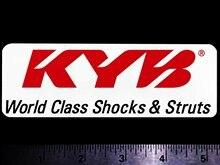 Amortisseurs et entretoises de classe mondiale pour x2 KYB, autocollants de course Vintage originaux