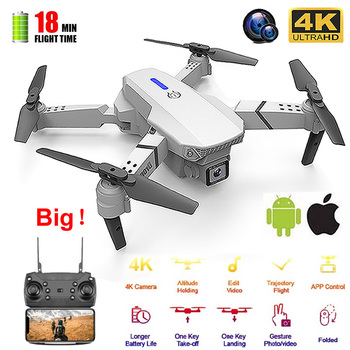 RC Drone Quadrocopter UAV with 4K Camera E525 WIFI FPV Wide Angle HD Height Hold Remote Control Foldable Quadcopter Dron Toy цена 2017